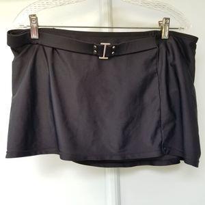 Converse One Star Black Swim Skirt Bottom Low  L